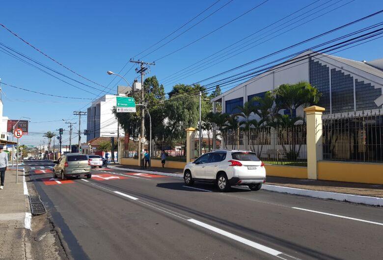 Secretaria de Transporte e Trânsito realiza mudanças na avenida Carlos Botelho na região da USP