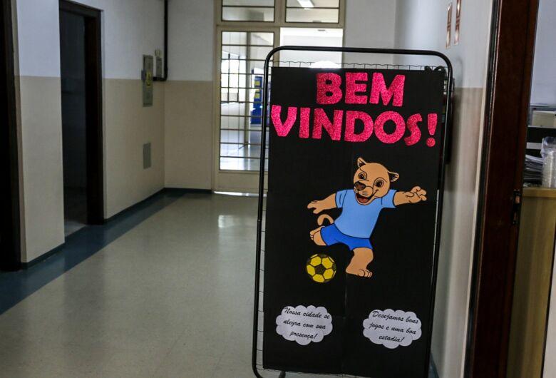 Alojamento está pronto para receber atletas de São Carlos
