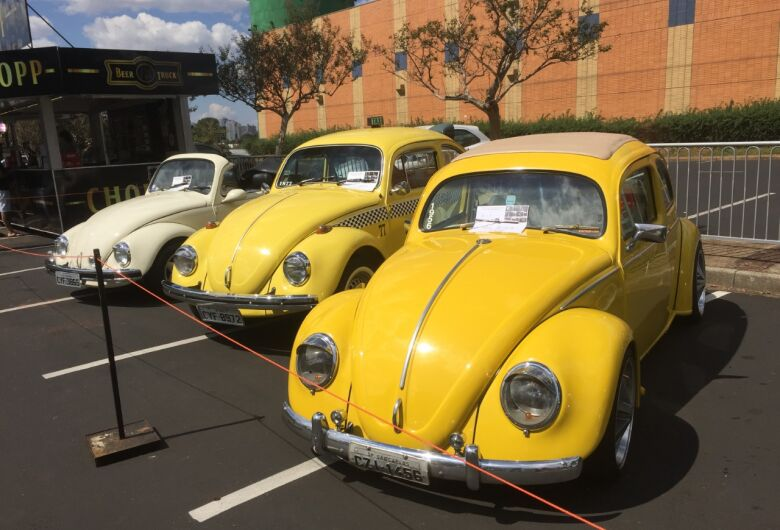 4ª Mostra de Carros Antigos no estacionamento do Iguatemi começa nesta sexta-feira