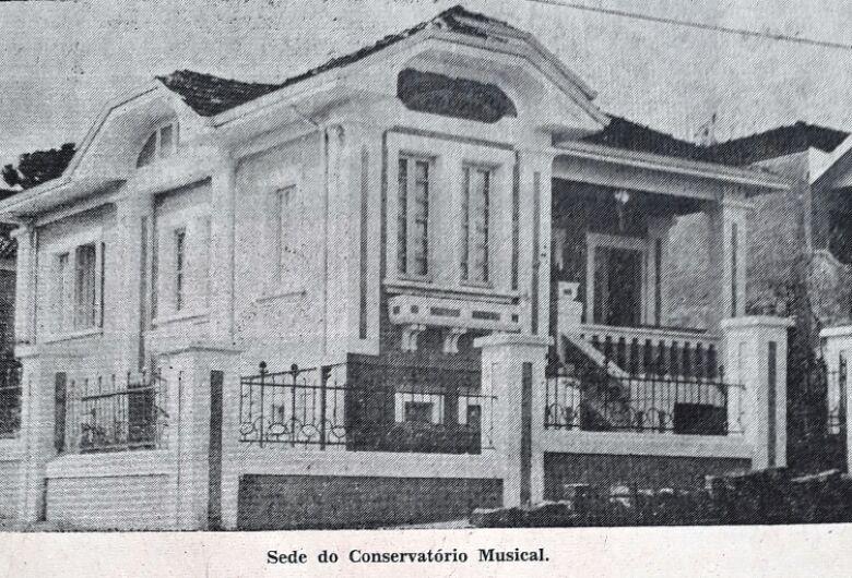 Conservatório Musical, templo de cultura em São Carlos