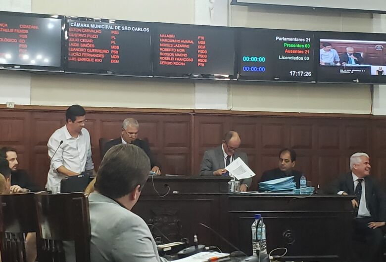 Câmara aprova aumento de 32% do subsídio dos vereadores; 14 votos a 6