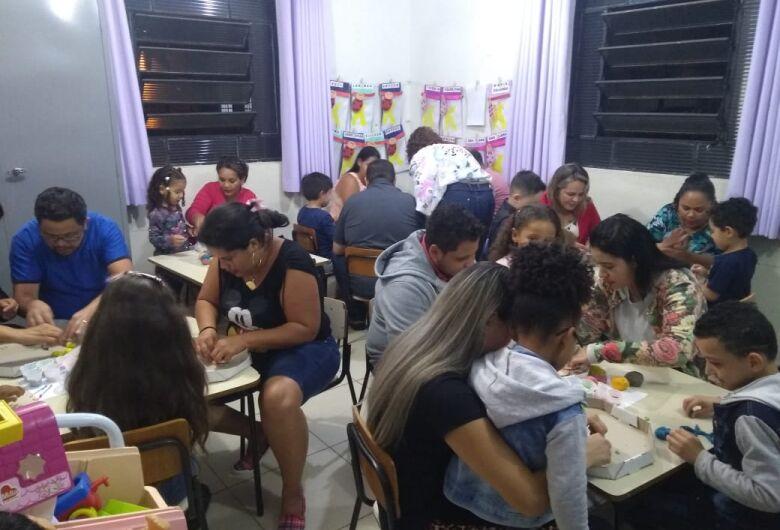 Solange Ap. Rodrigues realiza a Festa da Família para alunos da manhã e tarde