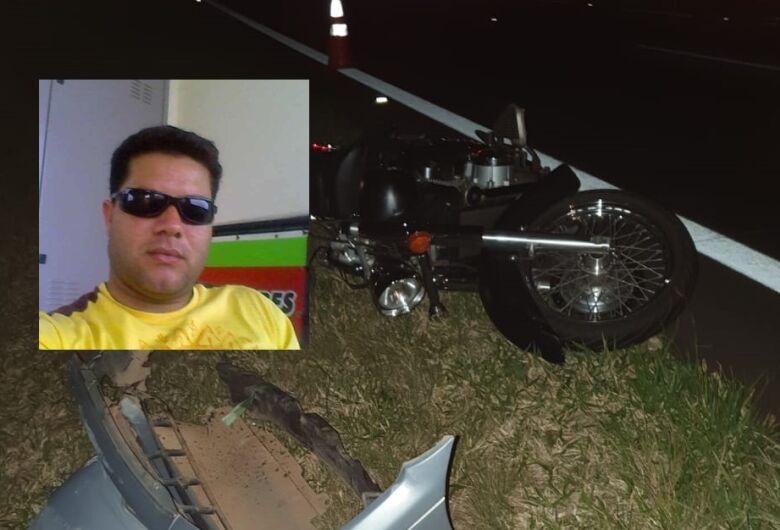 Motociclista morre após ser atingido por carro na Washington Luis