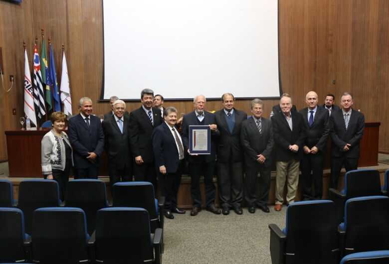 Câmara Municipal comemora os 70 anos do Ciesp São Carlos