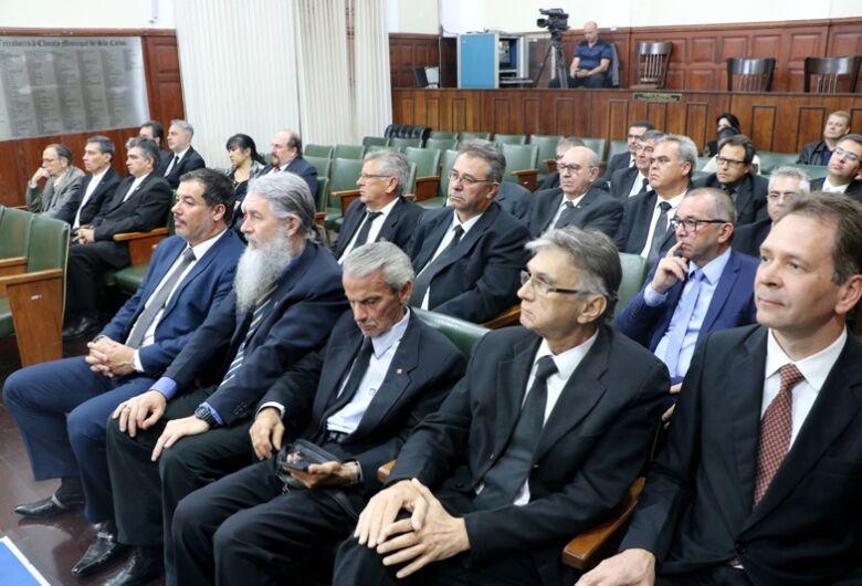 Câmara entrega Prêmio Jesuíno de Arruda em solenidade no Dia do Maçom
