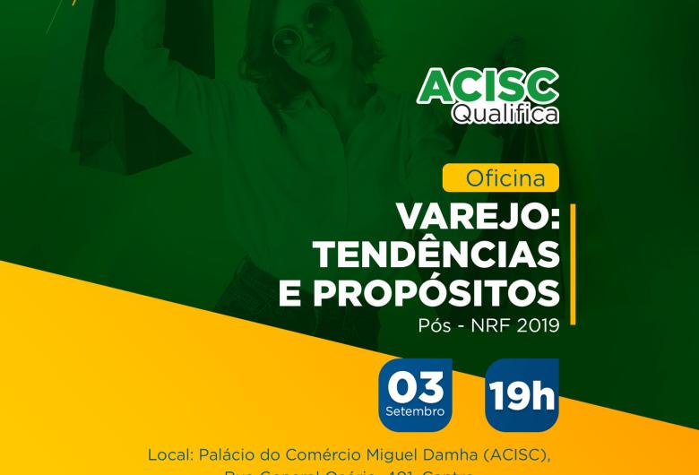 Acisc promove palestra sobre principais tendências para o comércio varejista