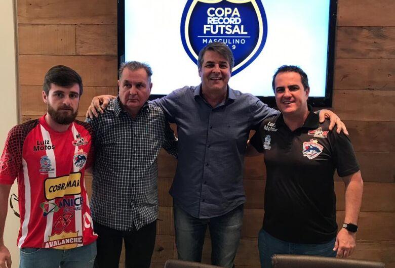 São Carlos Futsal busca o bicampeonato da Copa Record