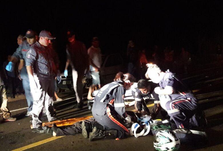 Morre na Santa Casa motociclista que sofreu acidente na estrada do Broa