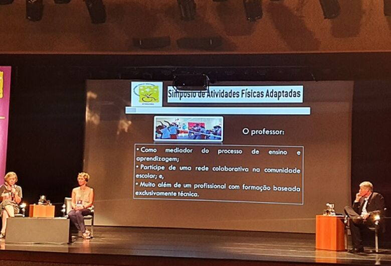 Ibaté participa de Simpósio de Atividades Físicas Adaptadas