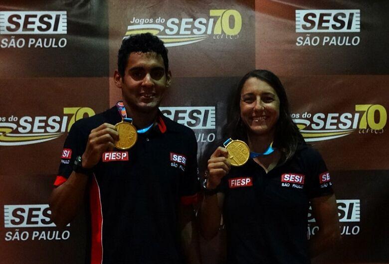 Medalhistas no Pan, atletas do Sesi São Carlos são homenageados e miram as Olimpíadas