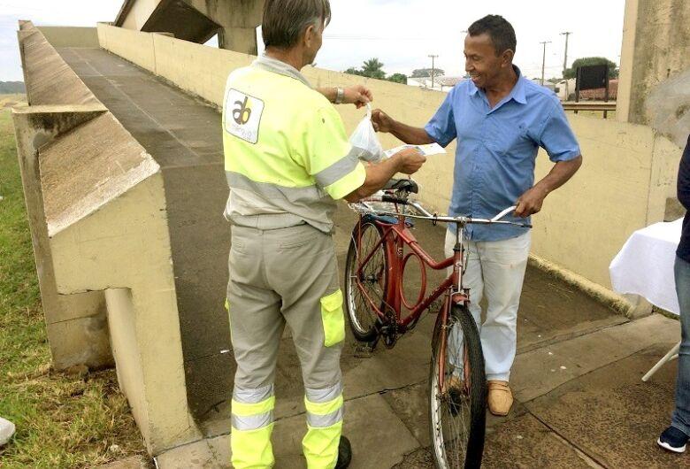 Ibaté recebe ação de segurança viária para pedestres