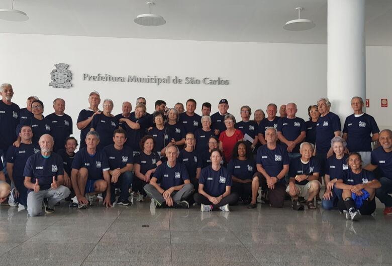 76 atletas de São Carlos vão participar dos Jogos Regionais do Idoso