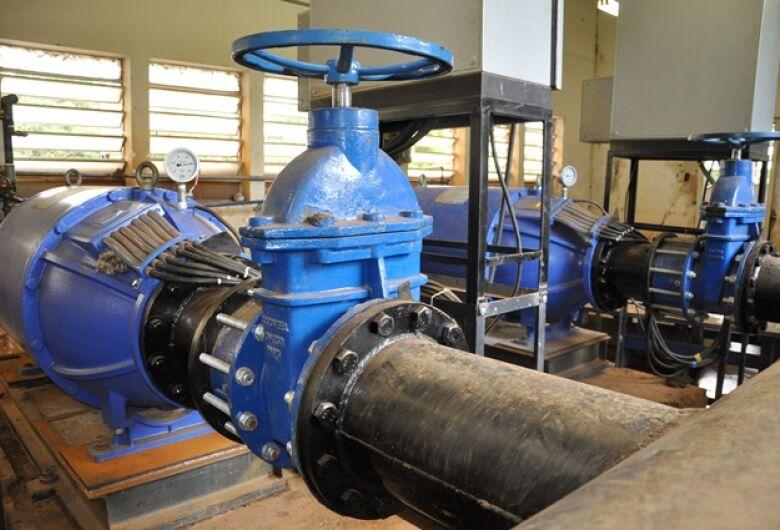 SAAE realizará limpeza do poço de sucção das bombas de recalque de água bruta na madrugada de domingo