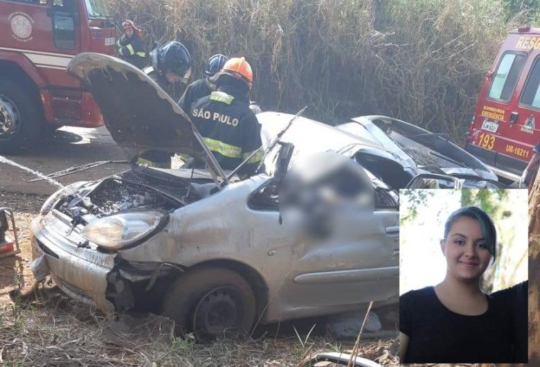 Irmãs sofrem acidente, uma morre e outra fica apenas com escoriações em Araras