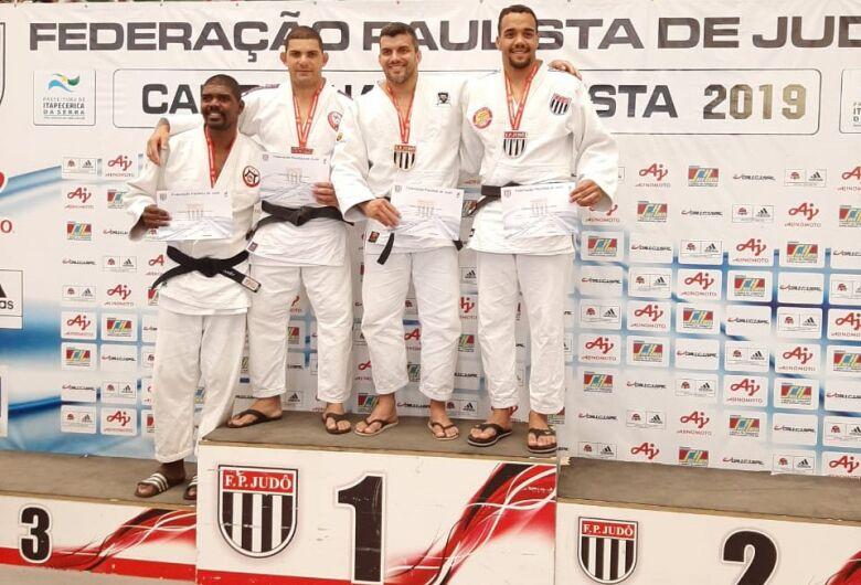 Judoca são-carlense brilha e fica em terceiro no Paulista