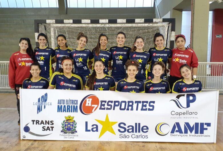 Equipes do handebol feminino de São Carlos focam a Copa Derla