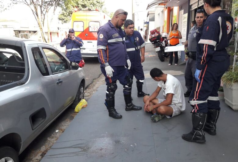 Homem é vítima de agressão na Vila Prado
