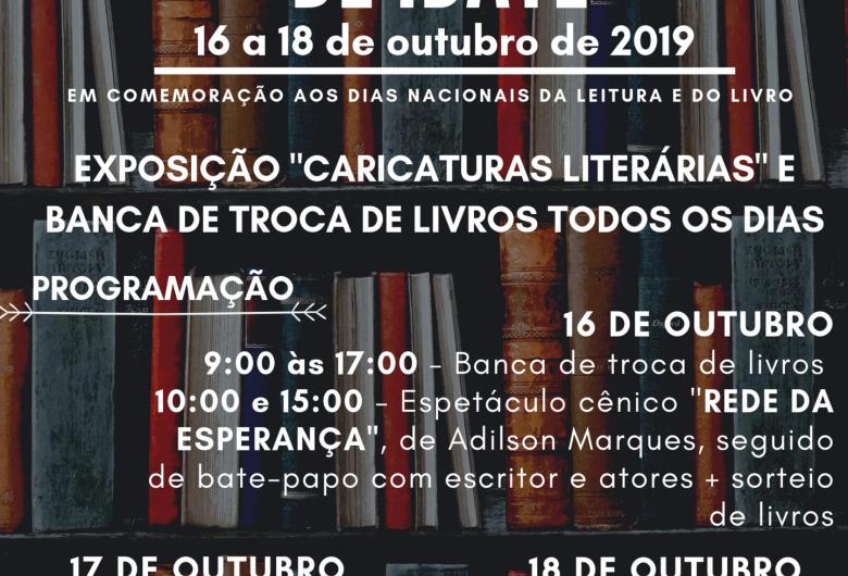 Biblioteca Municipal realiza a primeira Feira do Livro de Ibaté