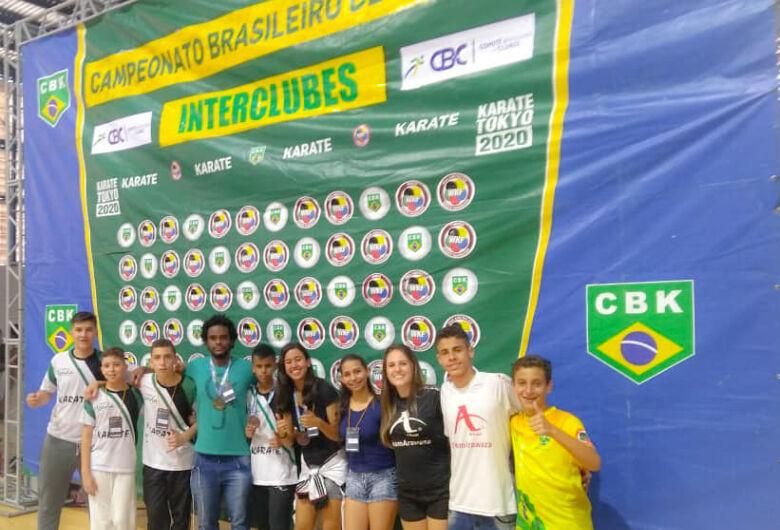 Equipe são-carlense conquista seis medalhas no Brasileiro de Karatê