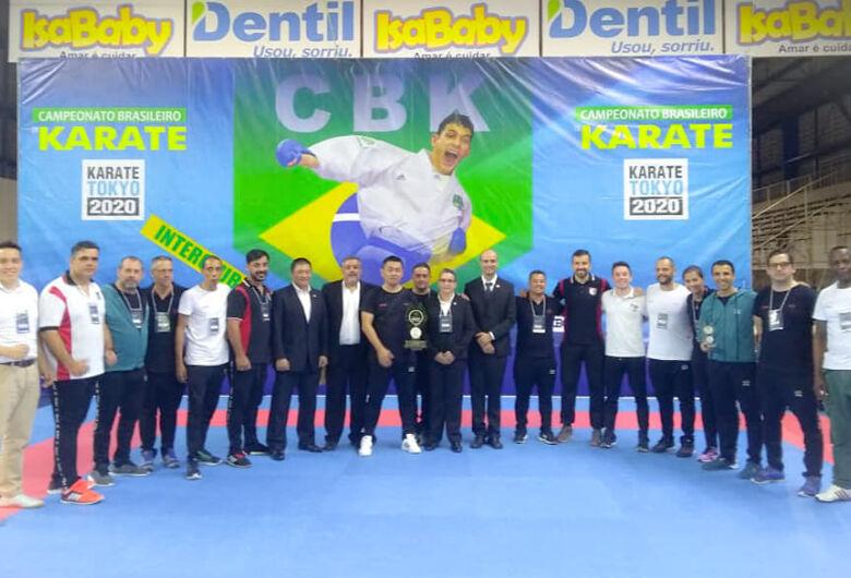 Com técnico são-carlense, São Paulo conquista título no Brasileiro de Karatê