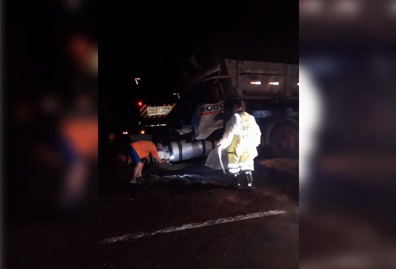 Vídeo mostra movimentação logo após acidente que matou motorista na SP-318