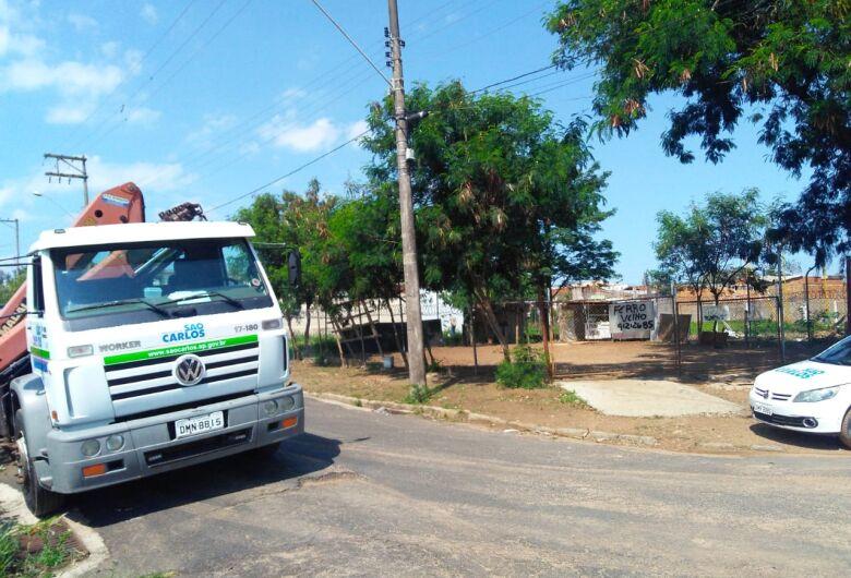 Área pública invadida é retomada pela Prefeitura