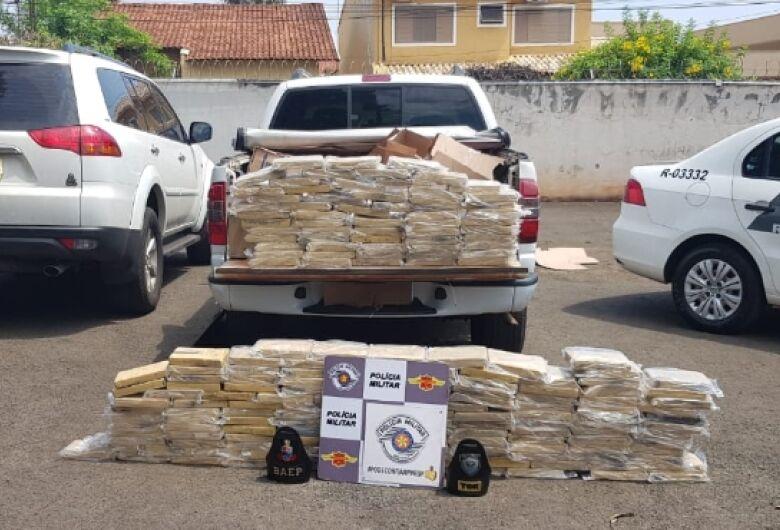 BAEP e TOR apreendem grande quantidade de cocaína na Washington Luis