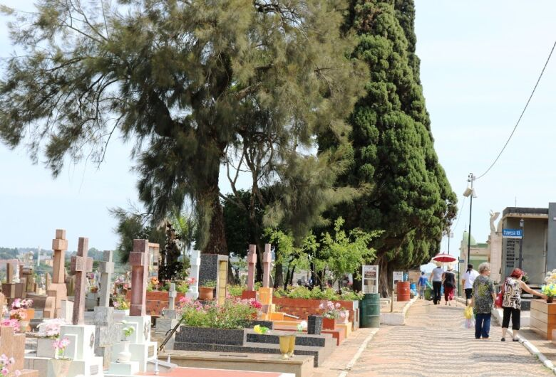 Limpeza de túmulos para o Dia de Finados poderá ser feita até sexta-feira