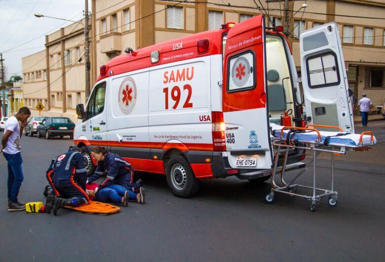 Motociclista perde controle da moto e sofre acidente