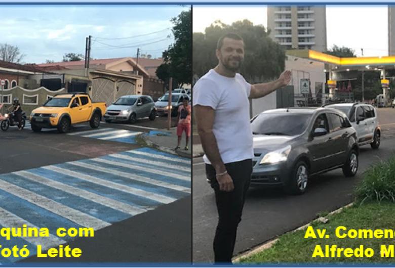 Vereador Rodson solicita instalação de semáforos na região do Jardim Ricetti