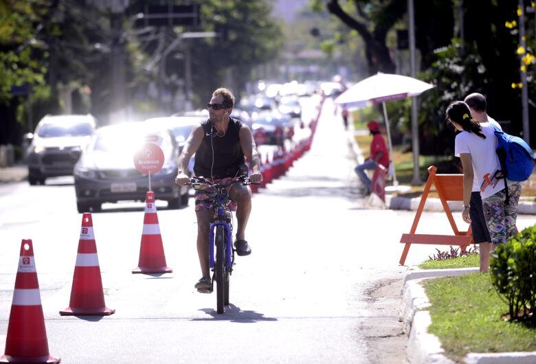 Roselei pede a criação de ciclofaixas de lazer nas marginais aos domingos