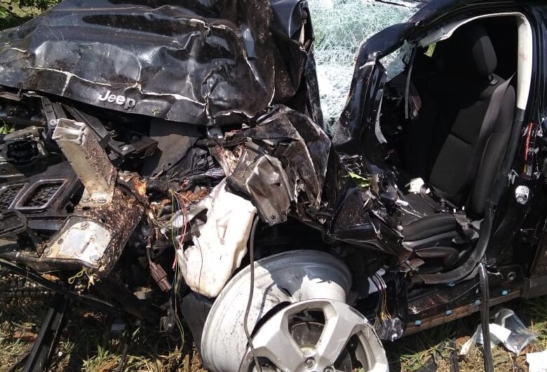 Motorista sofre grave acidente na Washington Luis