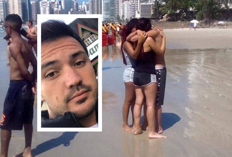 Jovem da região desaparece no mar, na Praia de Pitangueiras, em Guarujá