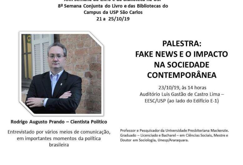 Fake News é tema de palestra na EESC/USP
