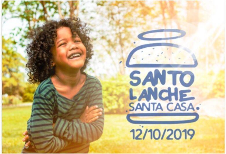 Campanha Santo Lanche, em prol da pediatria da Santa Casa, é neste sábado