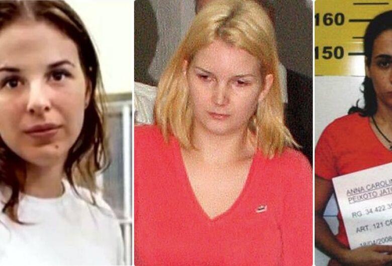 Suzane Richthofen, Anna Carolina Jatobá e Elize Matsunaga deixam a prisão para o dia das crianças