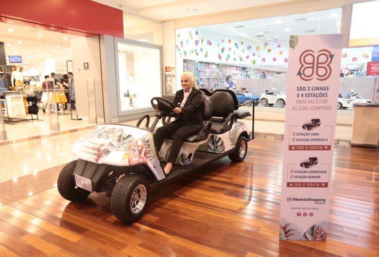 RibeirãoShopping passa a oferecer serviço com carrinhos de transfer gratuito para clientes