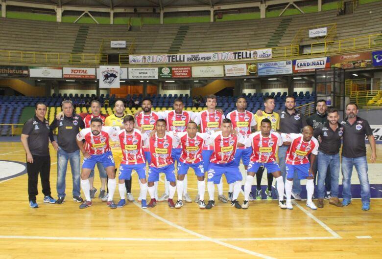 São Carlos Futsal pega Morro Agudo e quer 'vitória sólida' para ir às quartas de final
