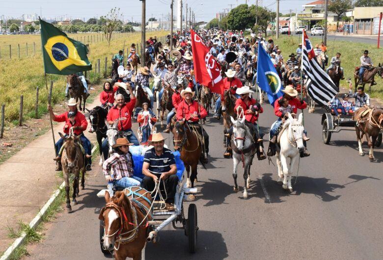 Cavalgada de São Francisco de Assis em Ibaté contará com o apoio dos Sertanejos do Bem