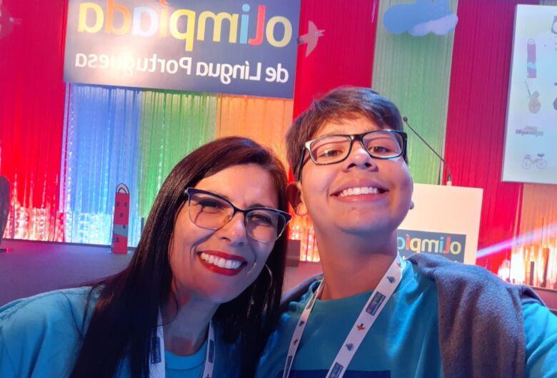 Aluno da Conde do Pinhal/Programa Ensino Integral é medalhista na Olimpíada da Língua Portuguesa