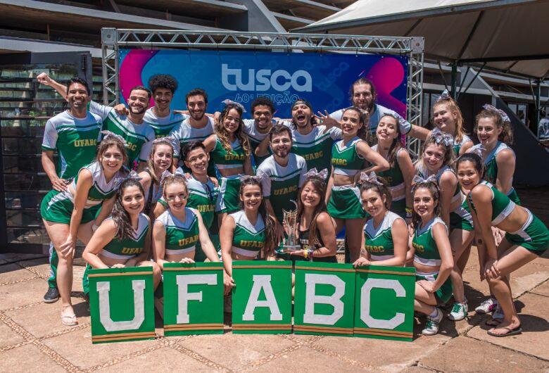 UFABC é campeã no Torneio de Cheerleading da 40ª Tusca