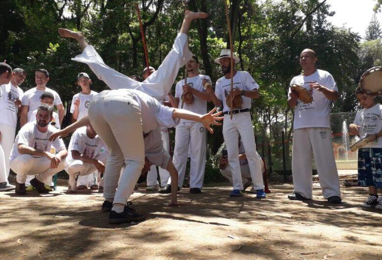 """Vereador Malabim apoia e prestigia a 1ª Semana da Capoeira de São Carlos - """"Capoeira de Mãos Dadas"""""""
