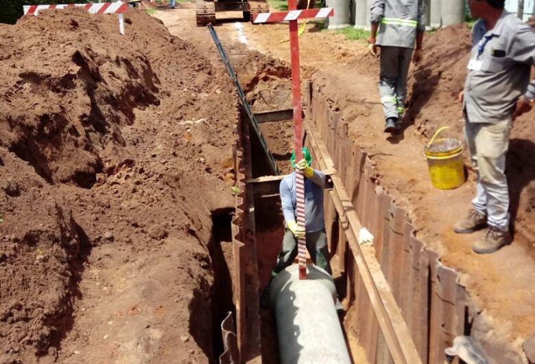Reservatórios irão encerrar problema da falta d'água no Broa