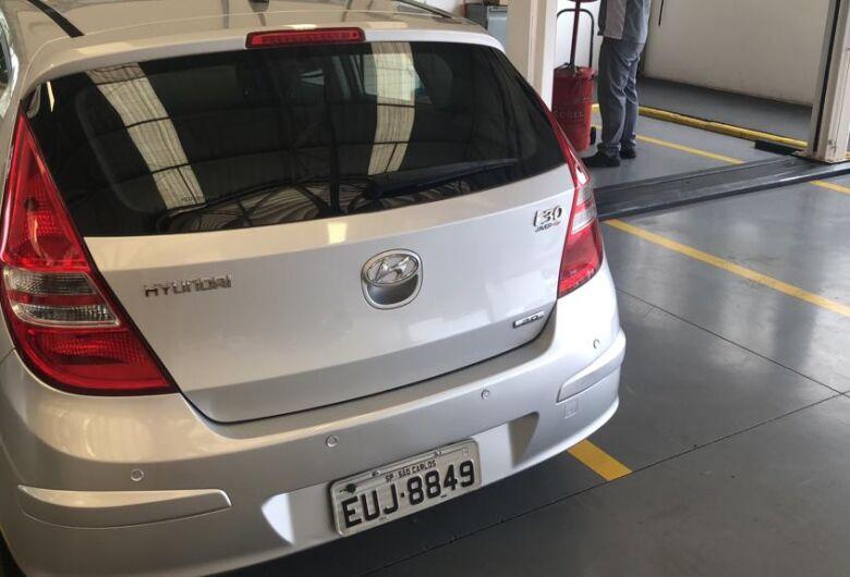 I30 furtado no Santa Felícia é localizado
