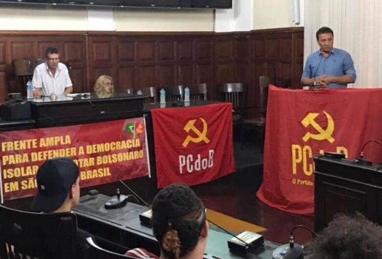 Leandro revela que munícipe ameaçou atropelar Cidinha Oncológico; PCdoB de São Carlos quer derrotar Bolsonaro