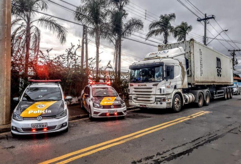 Polícia Rodoviária recupera carga de carne avaliada em R$ 720 mil roubada em São Carlos