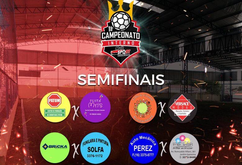 Jogos definem finalistas no torneio interno da Mult Sport