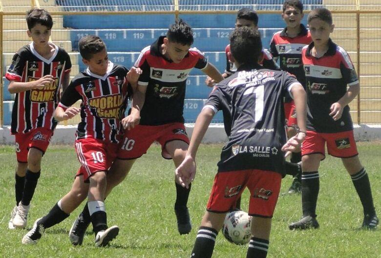 Sub13 do Multi Esporte/La Salle vence pelo Estadual e Copa Lefemara