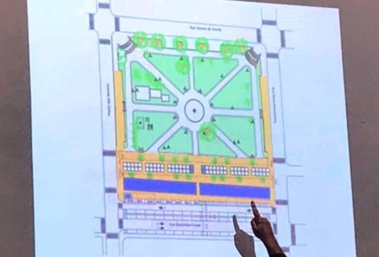 Após solicitação do vereador Rodson, secretaria apresenta projeto de revitalização da praça do comércio