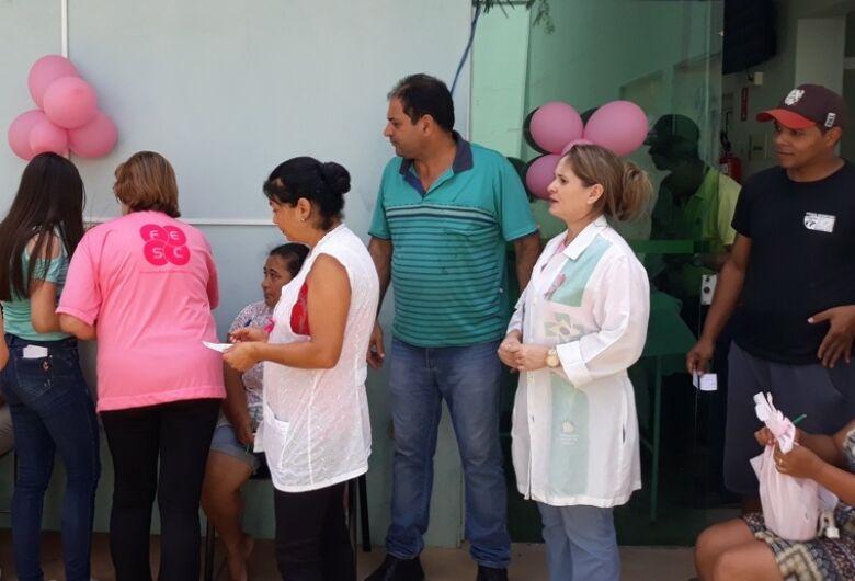 Sérgio Rocha participa de atividade do Outubro Rosa